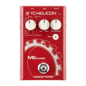Pedal Voz TC Helicon Mic Mechanic