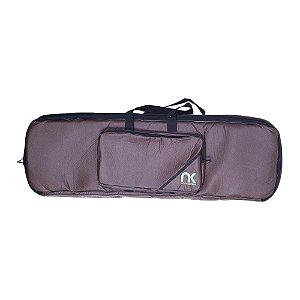 Bag Teclado 5/8 Newkeepers Compacto Couro Reconstituído