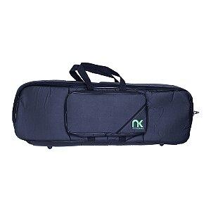 Bag Teclado 6/8 Newkeepers Compacto Couro Reconstituído