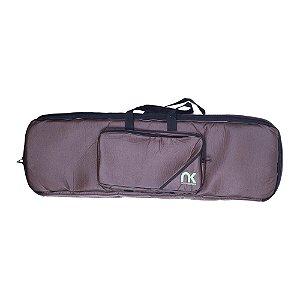 Bag Teclado 7/8 Newkeepers Compacto Couro Reconstituído
