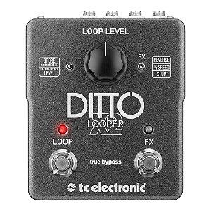 Pedal Guitarra TC Electronic Ditto X2 Looper