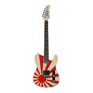Guitarra Tele Seizi Television Kamikaze Márcio Okayama