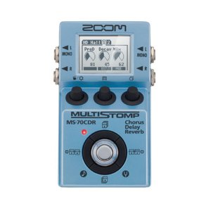 Pedal Guitarra Zoom MS 70 CDR