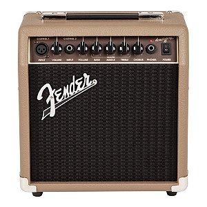 Combo Violão Fender Acoustasonic 15