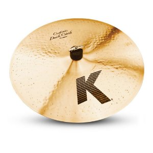 Prato Zildjian K Dark Crash Thin 17