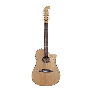 Violão 12C Folk Fender Villager SCE