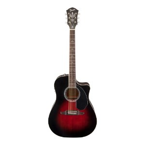 Violão Folk Fender Wayne Kramer Royal Tone Dreadnought CE