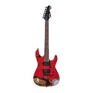 Guitarra Original Phx Marvel Iron Man