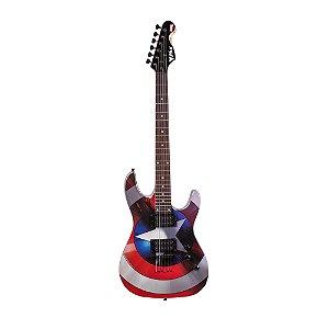 Guitarra Original PHX Marvel Capitan America