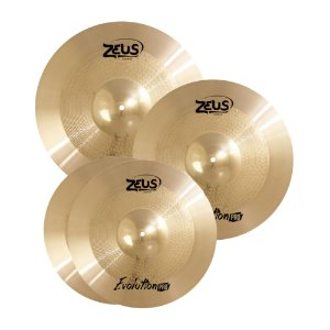 Set Pratos Zeus Evolution Pro C 14/16/20""