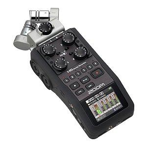 Gravador Cartão Zoom H 6