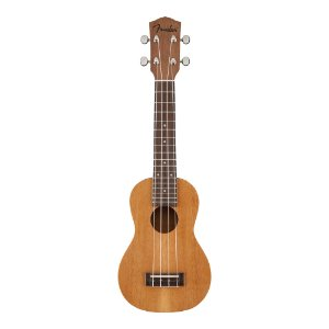 """Ukulele Soprano Fender Piha""""Eu"""