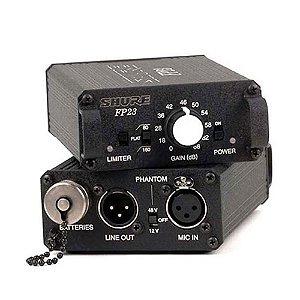 Microfone Mix / Pré-amplificador Shure FP 23