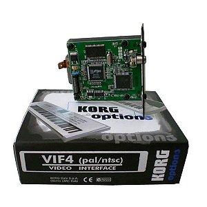 Placa de Vídeo Korg VIF 4