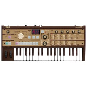 Sintetizador Korg Microkorg MK1 Limited Edition Gold com bag