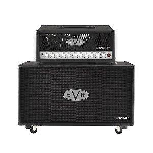 Cabeçote + Caixa Guitarra EVH 5150 III 2x12