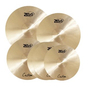 Set Pratos Zeus Custom E 10/14/16/18/20""