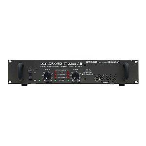 Amplificador Áudio Ciclotron W Power II 2200 AB