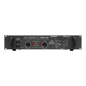 Amplificador Áudio Ciclotron W Power II 9000 AB