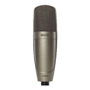 Microfone Estúdio Shure KSM 42 SG