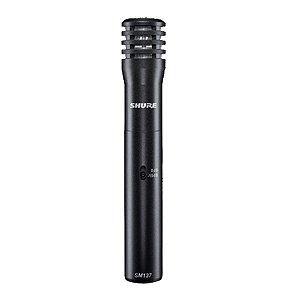 Microfone Instrumento Shure SM 137 LC