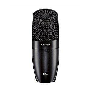 Microfone Instrumento Shure SM 27 SC