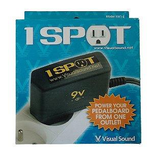 Fonte Pedal Visual Sound 1 Spot NW 1 CP 2 E