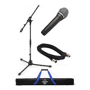Kit Microfone Mão Samson Q 7 VP