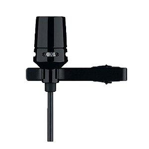 Microfone Lapela Shure CVL B/C TQG