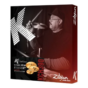 Set Pratos Zildjian K Custom Hybrid Series KCH 390 14,25/17/21""
