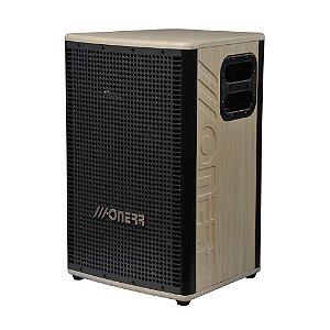 """Caixa Acústica Ativa Onerr  Ambience 200 15"""" BT Maple"""