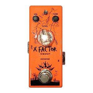Pedal Guitarra Overtone X Factor Distort