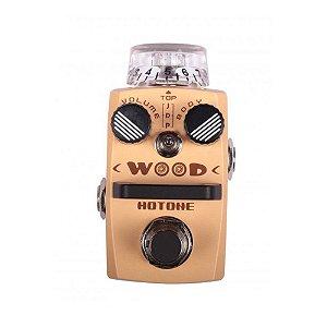 Pedal Guitarra Pedal Hotone Simulador Wood SAC 1