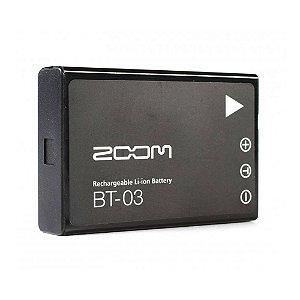 Bateria Recarregável Zoom BT03 Para Gavador Q8