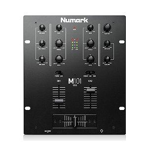 Mixer DJ 2 Canais Numark M101 USB