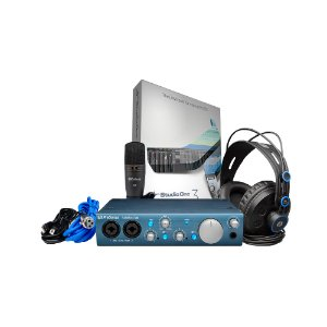 Kit Interface USB Presonus AudioBox iTwo Studio