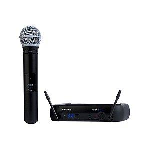 Microfone Mão Shure PGX D 24 BR / PG 58