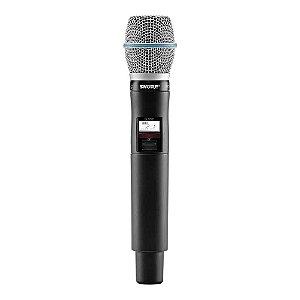 Microfone Mão Shure QLX D 2 Beta 87a J50