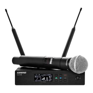 Microfone Mão Shure Qlxd 24br / Sm58 L50