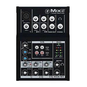 Mesa de Som 5 Canais Mackie MIX 5