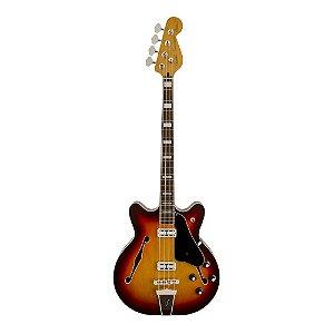 Contrabaixo Passivo 4C Semi-Acústico Fender Modern Player Coronado ACS