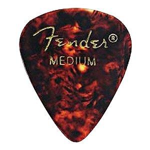 Kit 144 Palhetas Fender Shell Extra Heavy Tradicional