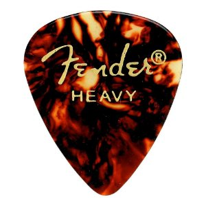 Kit 144 Palhetas Fender Shell Heavy Tradicional