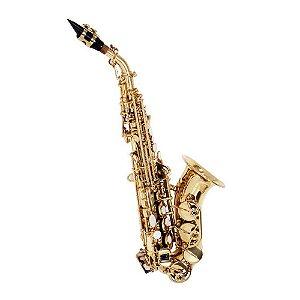 Saxofone Shelter Soprano Curvo