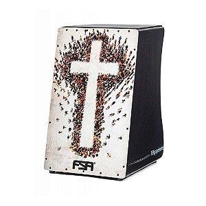 Cajon Inclinado FSA Gospel FG 1506 com captação