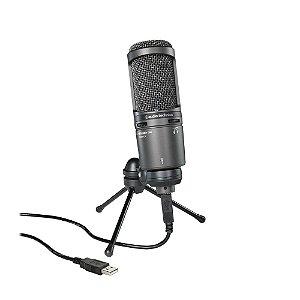 Microfone Audio Technica AT 2020 USB