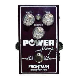 Pedal Guitarra Power Stomp Frontman Booster/EQ