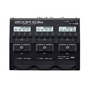 Pedaleira Guitarra Zoom G3n