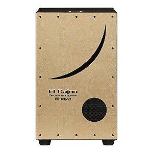 Cajon Acustico e Eletrônico Roland EC 10