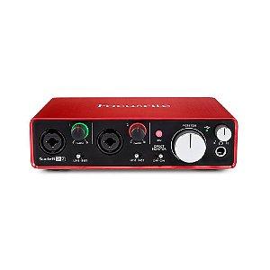 Interface USB Focusrite Scarlett 2i2 2nd Gen